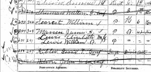 Wilson 1890 familysearch