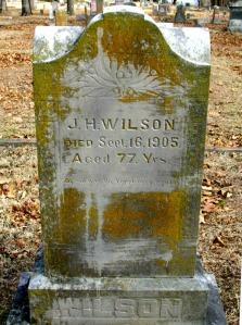 WILSON J H @ Carterville Cem crop